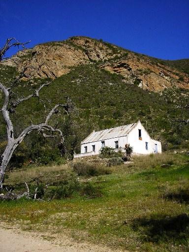 Old farmhouse in the Brakkloof