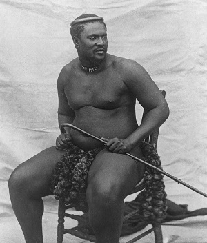 Zulu king Cetswayo