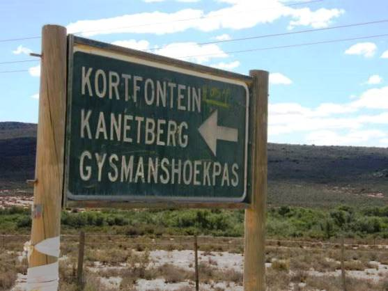 Sign on the pass