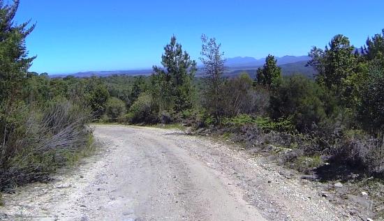 The final descent towards Grootdraai