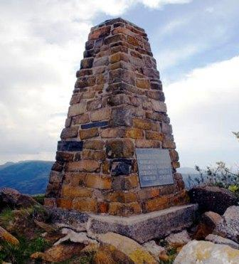 memorials at Laings nek