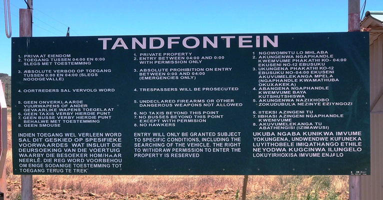 Tandfontein