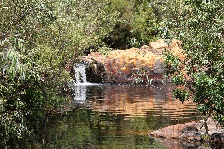Leeurivier rock pool