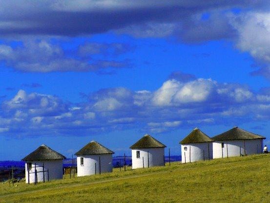 Satansnek small rural dwellings