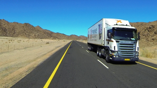 Expect cross-border heavy trucks on this road