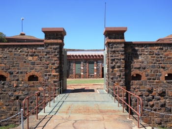 Main entrance to Fort Klapperkop