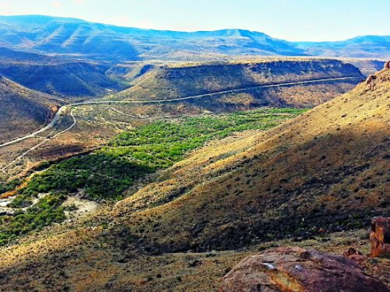 Molteno Pass (P0058 / R381) - Mountain Passes South Africa