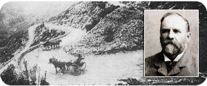 The Swartberg Pass in the 1800's