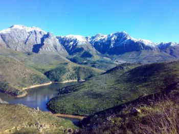 Elandskloof dam from the summit