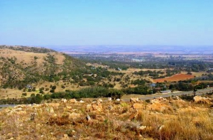 Views over Donkerpoort and Donkerhoek