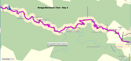 Kouga Baviaans Tour - Day 3