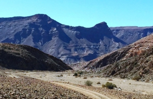 Helskloof Pass with its breathtaking geology