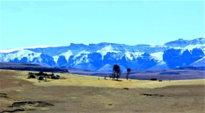 Scenery near Elliot, Eastern Cape